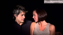 【動画素材】キスのタイミングを探る男女