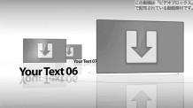 【Apple Motion テンプレート】Black & White Presentation
