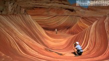 【動画素材】アリゾナ州にあるThe Wave
