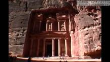 【動画素材】 ヨルダンにあるペトラ遺跡
