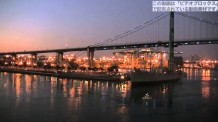 【商用OKの動画素材】 ロサンゼルスの巨大客船